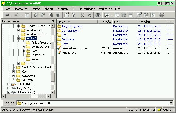 Tom's Homepage - Installation von AmigaOS 3 9 unter WinUAE
