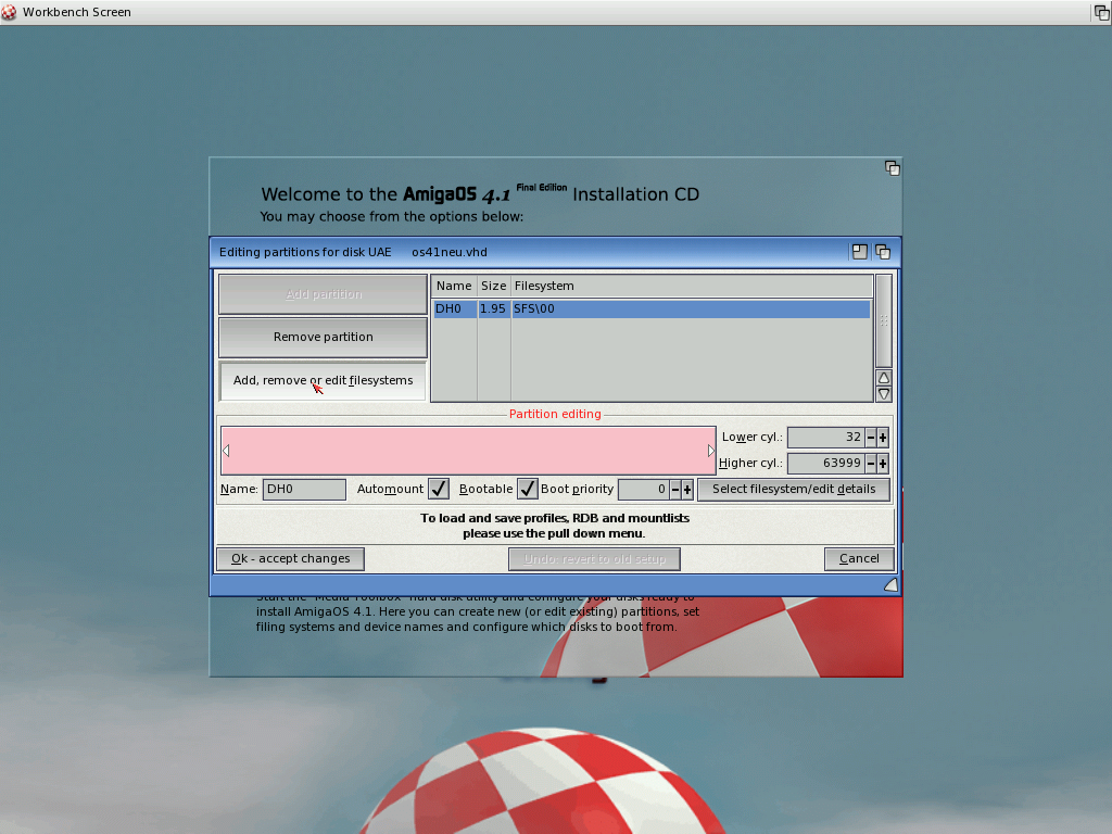Tom's Homepage - Install Amiga OS 4 1 Final Edition on WinUAE