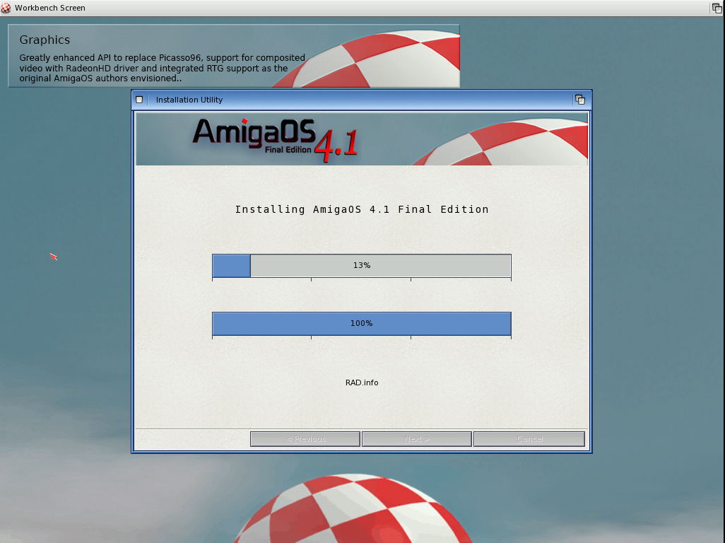 Tom's Homepage - Install Amiga OS 4 1 Final Edition on WinUAE